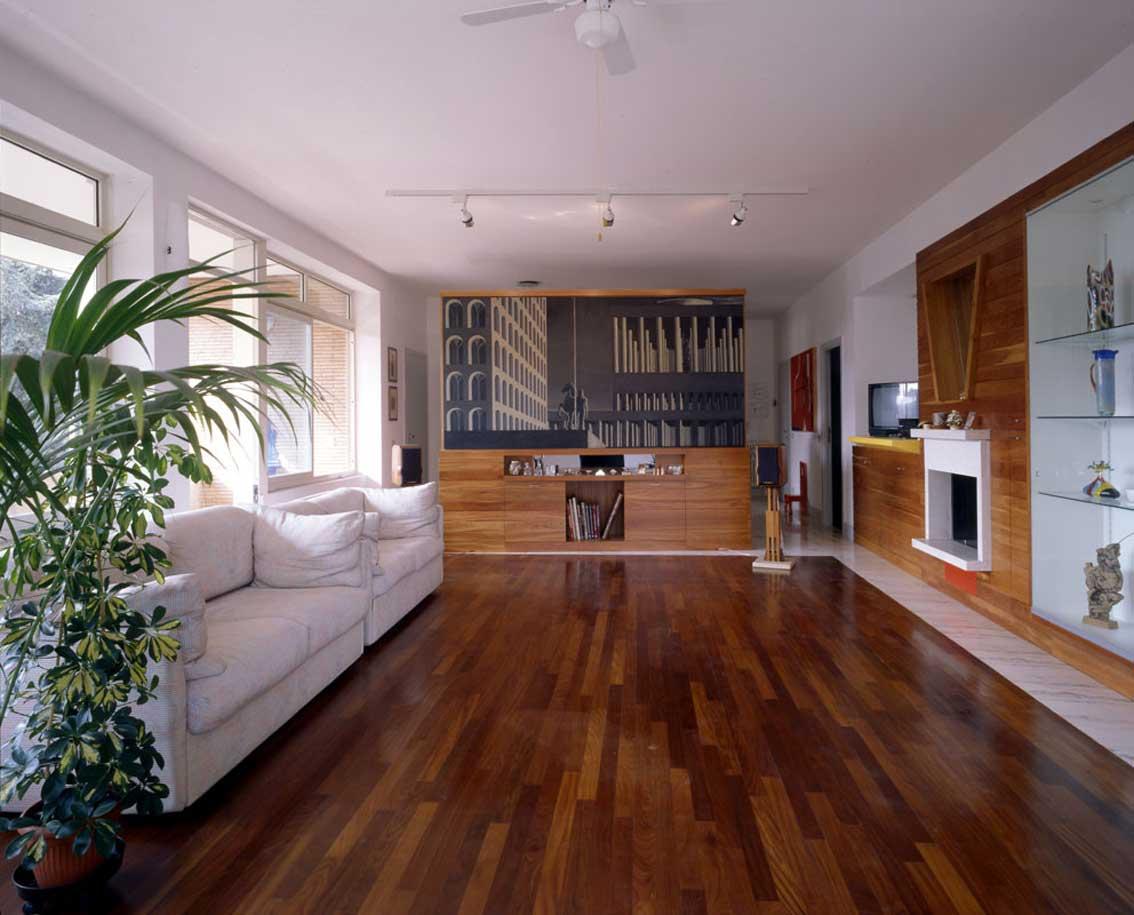 Progetti d 39 opera dario passi intervento artistico all for Modello di casa all interno