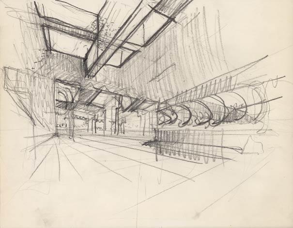 Progetto per il museo parisi nel parco giona a maccagno, luino (varese